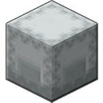 Белый шалкеровый ящик в Майнкрафте