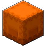 Оранжевый шалкеровый ящик в Майнкрафте