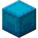 Голубой шалкеровый ящик в Майнкрафте