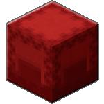 Красный шалкеровый ящик в Майнкрафте