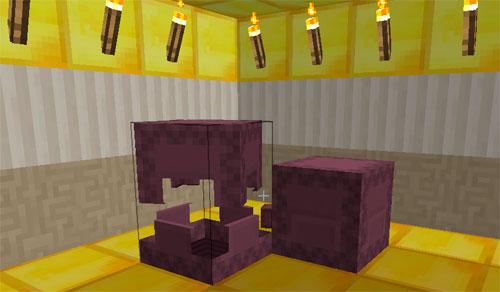 Два шалкеровых ящика в Майнкрафте